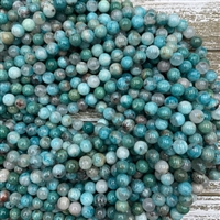 8mm New Amazonite Strands