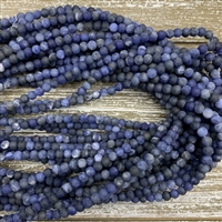 4mm Matte Sodalite Strands