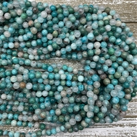 6mm New Amazonite Strands