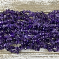 5-8mm Amethyst Chip Strands