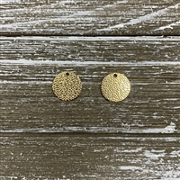 Vacuum Plated Laser Cut Charms-Gold