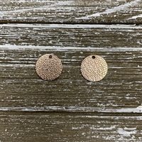 Vacuum Plated Laser Cut Charms-Rose Gold