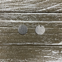 Vacuum Plated Laser Cut Charms-Stainless