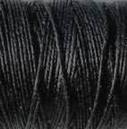 3 Ply Irish Waxed Linen - Black