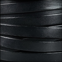 10mm Flat Black Leather