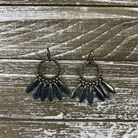 Brick Stitch Fan Earring Kit