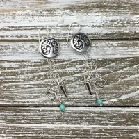 Quick and Easy Leaf Earring Kit