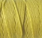 4 Ply Irish Waxed Linen - Country Yellow