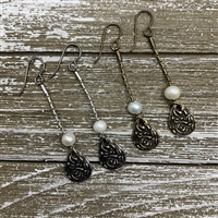 Dangling Pearl Earring Kit