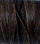 3 Ply Irish Waxed Linen - Dark Chocolate
