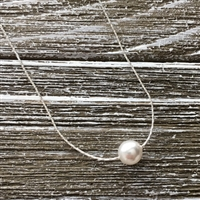 Delicate Pearl Beading Chain Necklace Kit