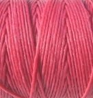 4 Ply Irish Waxed Linen - Fuschia