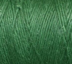 Green 4 Ply Irish Waxed Linen