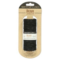 Hemp Cord - 20lb test - Black