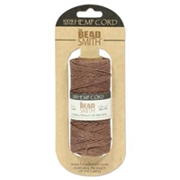 Hemp Cord - 20lb test - Brown