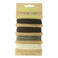 Hemp Cord - 10lb test - Neutral Colors
