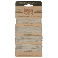 Hemp Cord 10, 20, 36, 48 test - Natural