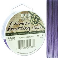 Chinese Knotting Cord .8mm Sian