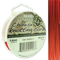 Chinese Knotting Cord .8mm Siam