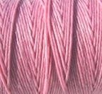 4 Ply Irish Waxed Linen - Light Rose