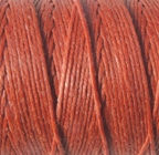4 Ply Irish Waxed Linen - Light Rust
