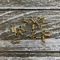 2mm Crimp End - Gold