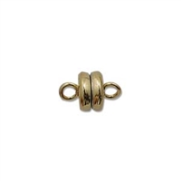 Gold Plate 6mm Magnetic Clasp