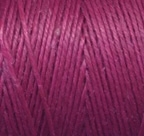 4 Ply Irish Waxed Linen - Magenta