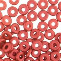 Lava Red O Beads