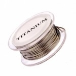 Square Craft Wire - Titanium 21 gauge
