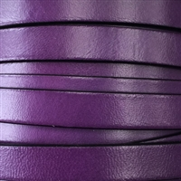 10mm Flat Purple Leather