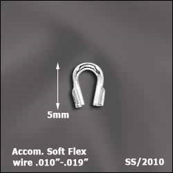 "Sterling Silver Wireguard 010"" - .019"" MM"