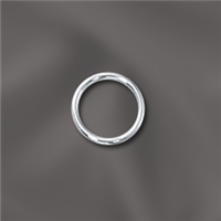 Sterling Silver Jump Ring Closed - 6MM