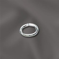 Sterling Silver Oval Jump  Ring - 4MM X 6MM