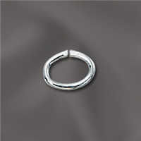 Sterling Silver Oval Jump  Ring - 5MM X 7MM