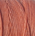 3 Ply Irish Waxed Linen - Salmon