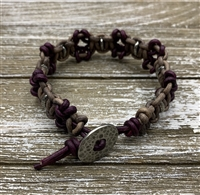 Squared Up Larks Head Bracelet Kit