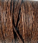 3 Ply Irish Waxed Linen - Walnut Brown
