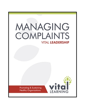 Managing Complaints Participant Workbook