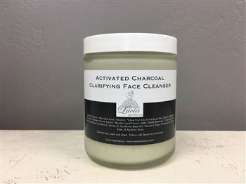 Activated Charcoal Clarifying Face Cleanser