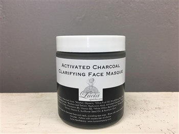 Activated Charcoal Clarifying Face Masque