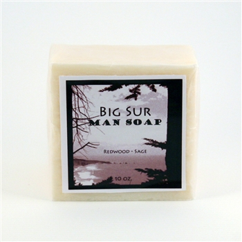 Big Sur Man Soap - Redwood Sage