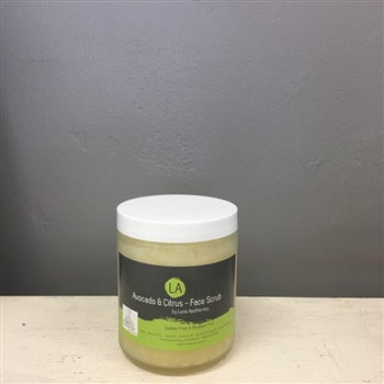 Avocado & Citrus - Face Scrub (sugar)