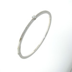 BLD0005 18k White Gold Diamond Bracelet