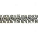 BLD0010 18k White Gold Diamond Bracelet