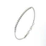 BLD0022 18k White Gold Diamond Bracelet