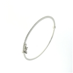 BLD0076 18k White Gold Diamond Bracelet