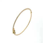 BLD0077 18k Rose Gold Diamond Bracelet