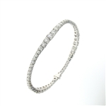 BLD0083 18k White Gold Diamond Bracelet