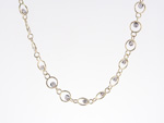 NEC1067 18k Yellow & White Gold Diamond Necklace